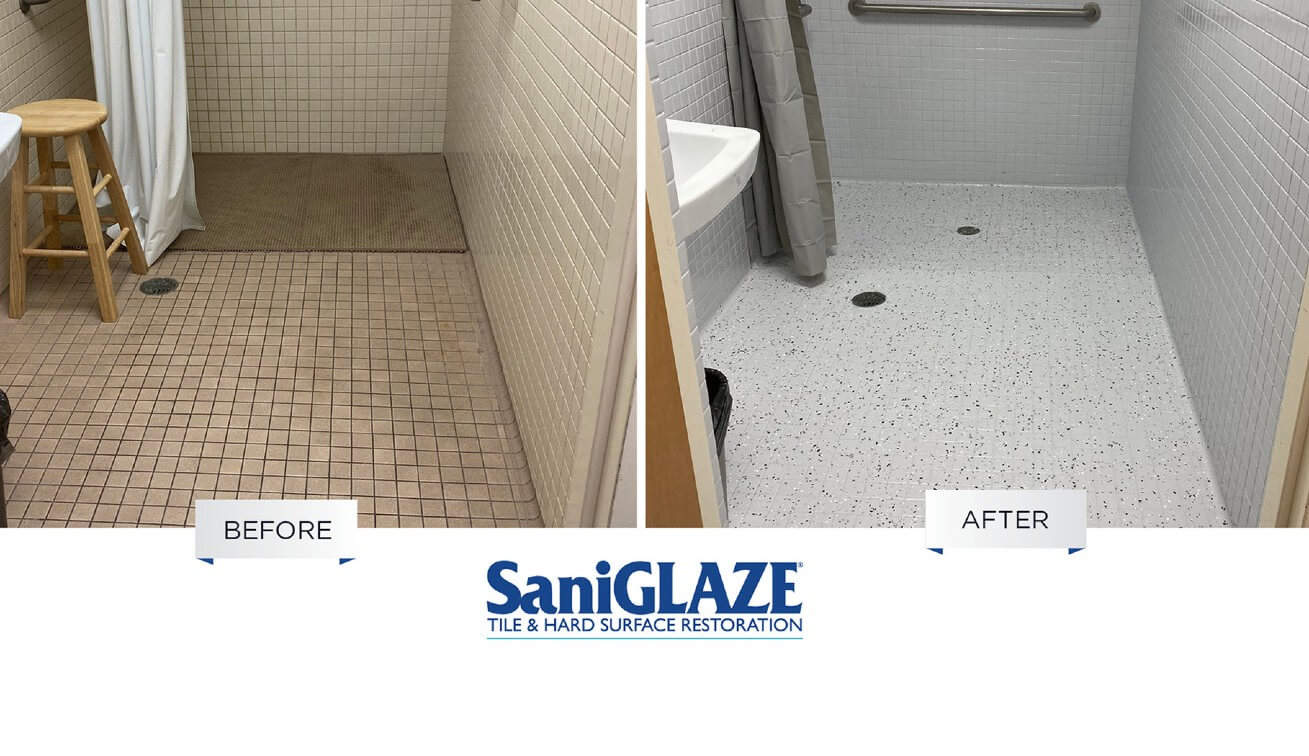 Sani Glaze Title and Surface Restoration Before After
